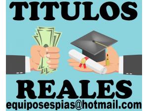 Asesoria para Titulos Universitarios y tecnicos