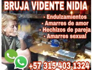 NIDIA BRUJA ESOTÉRICA ALEJAMIENTO 3154031324