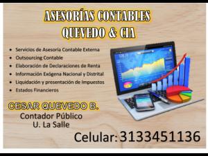 ASESORIAS CONTABLES EXTERNAS OUTSOURCING CONTABLE