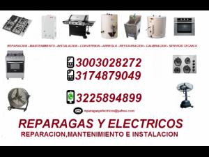 instalacion de gasodomesticos en cali cel 3003028272
