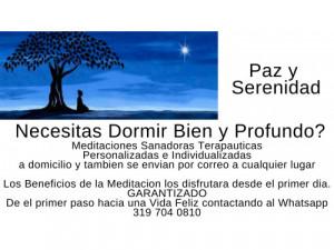 NECESITA DORMIR BIEN Y PROFUNDO DE MANERA NATURAL?