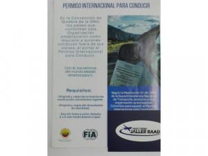 PASE INTERNACIONAL -CON AUTOMOVIL CLUB DE COLOMBIA