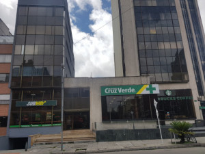 Arriendo oficina de 320 m2 en chapinero