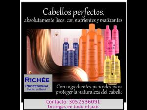 Alisa tu cabello con Richèe Profesional (Brasil)