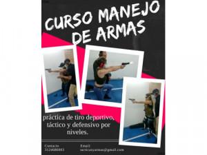 curso manejo de armas Bogotá