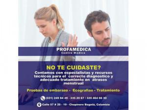 Retraso Menstrual Bogotá