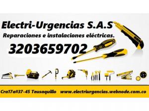 SERVICIO DE ELECTRICISTAS PROFESIONALES.