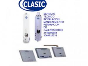 Calentadores Clasic Bogotá linea 3114737399