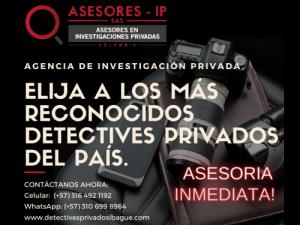 Detective Privado en Ibagué Tolima