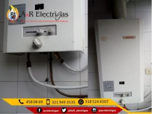 Reparacion y Mantenimiento de Calentadores Bosch 321949...