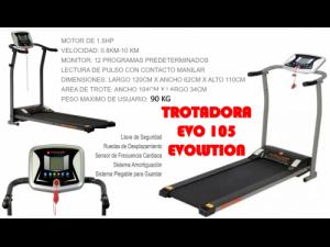 TROTADORA ELECTRICA EVO 105 EVOLUTION