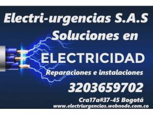 Electricista,san Luis, El nogal,Belalcazar,El virrey, p...