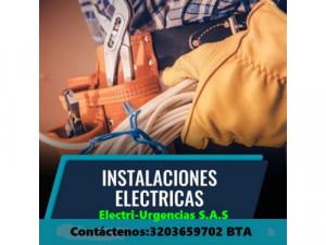Electricista,Usaquen,santa ana,Modelia,Salitre,Villa lu...