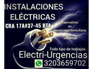 Electricista,reparaciones e instalaciones eléctricas,c...