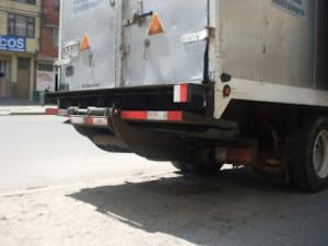 Plataformas para camión 500 kg escondida