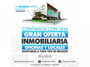 Oficinas y Locales en Zona Franca Bogotá