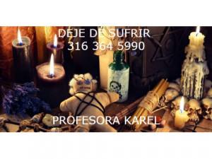 Profesora karel, 316 364 5990 te regreso el amor ya !