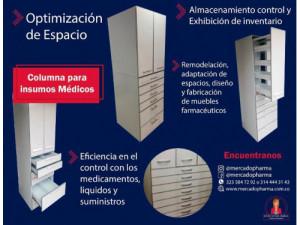 reparación de columnas para medicamentos