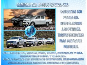 ALQUILER CAMIONETAS MICROBUS Y VAN CARGA EN COLOMBIA