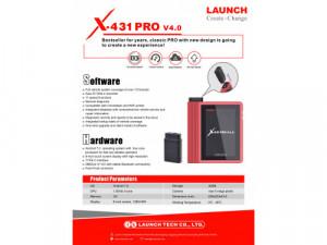 Escaner Automotriz Profesional Launch X431 Pro 4.0