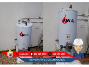 Reparacion y Mantenimiento de Calentadores Oka