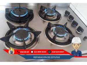 Reparacion y Mantenimeinto de Estufas a Gas